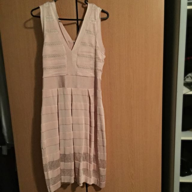 Blush Pink French Connection Dress