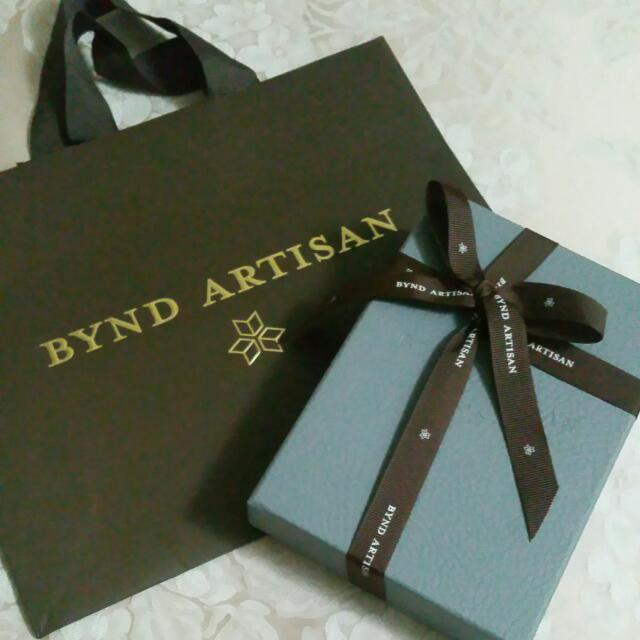 BNIB Bynd Artisan Leather Slim Notes