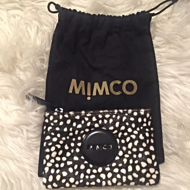 BRAND NEW MIMCO POUCH- Still Has Tags