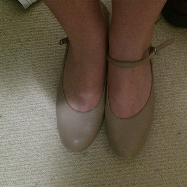 Camel Coloured Tap Shoes