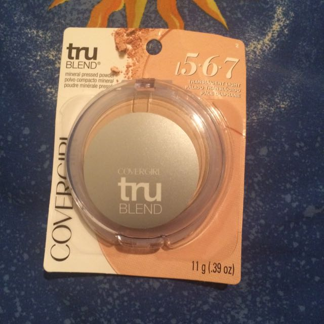 Covergirl Tru Blend Mineral Powder.