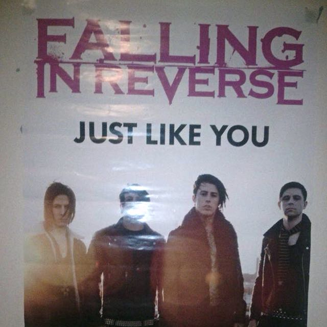 Falling In Reverse Just Like You Poster