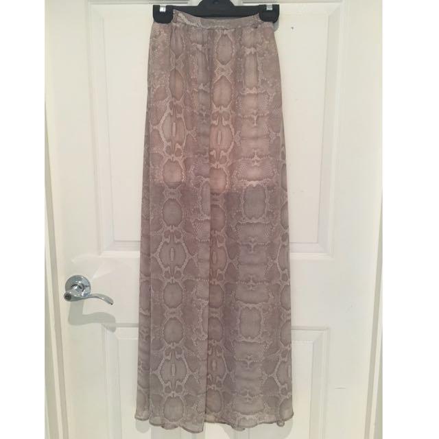 Forever New Maxi Skirt Size 4