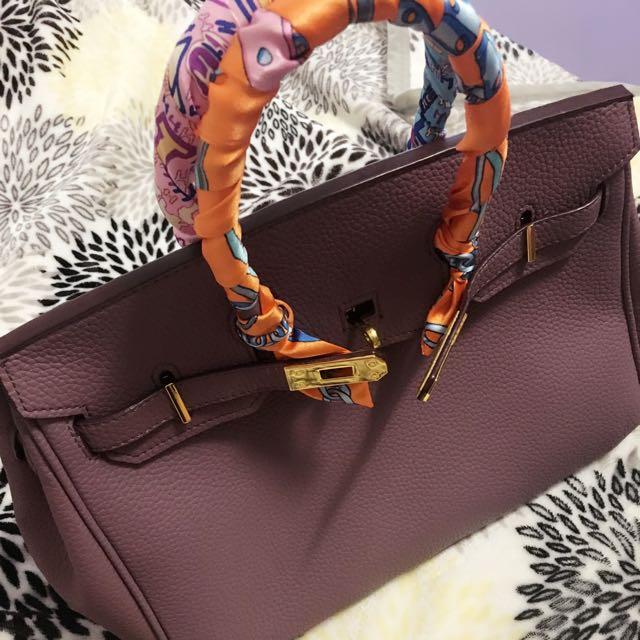 H牌紫色鉑金包20