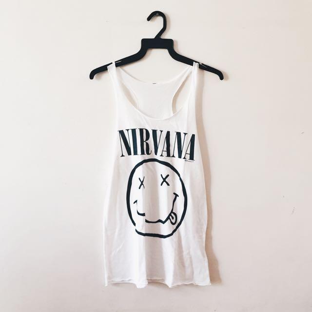 h&m nirvana tank top