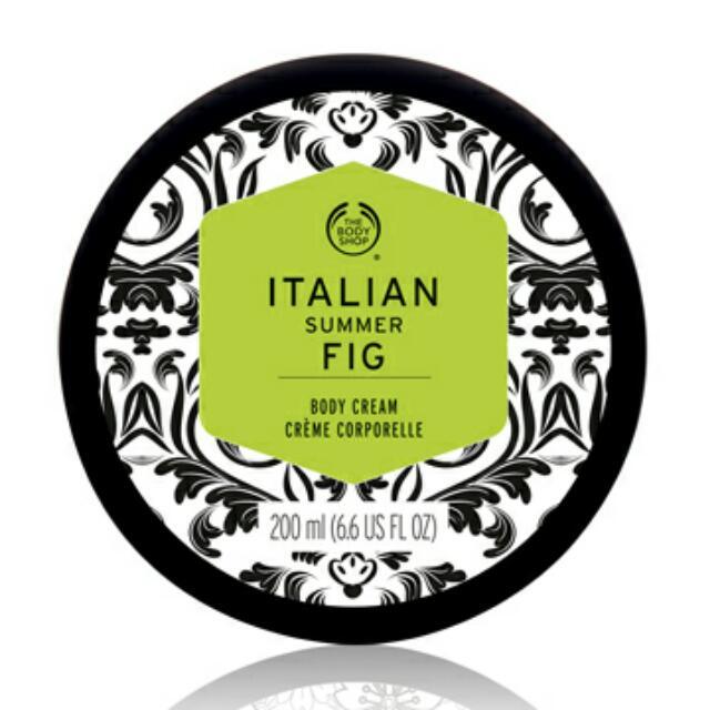 義大利無花果身體美膚霜ITALIAN SUMMER FIG BODY CREAM-200ML