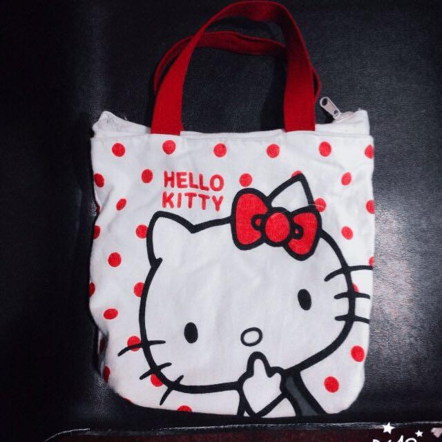 Kitty 帆布手提袋