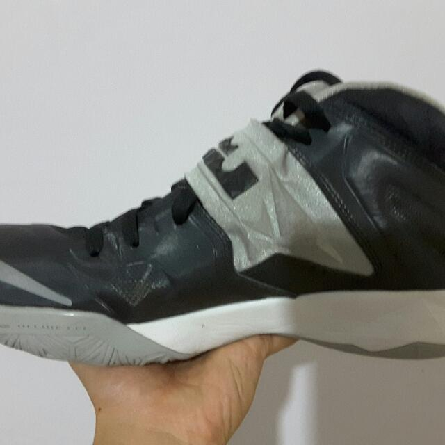 save off b9a89 83a2f Lebron Soldier 7 Black|Gray US10