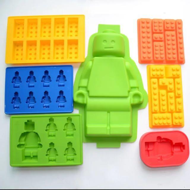Lego樂高積木 矽膠製冰盒 軟糖 巧克力 DIY