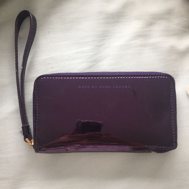 Marc By Marc Jacobs Purple Wallet