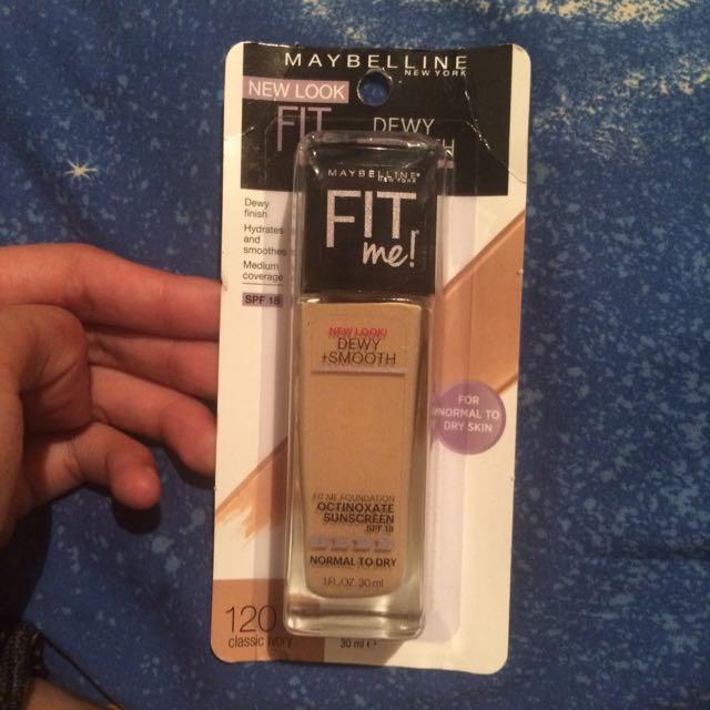 Maybelline 120 Classic Ivory . Foundation $15