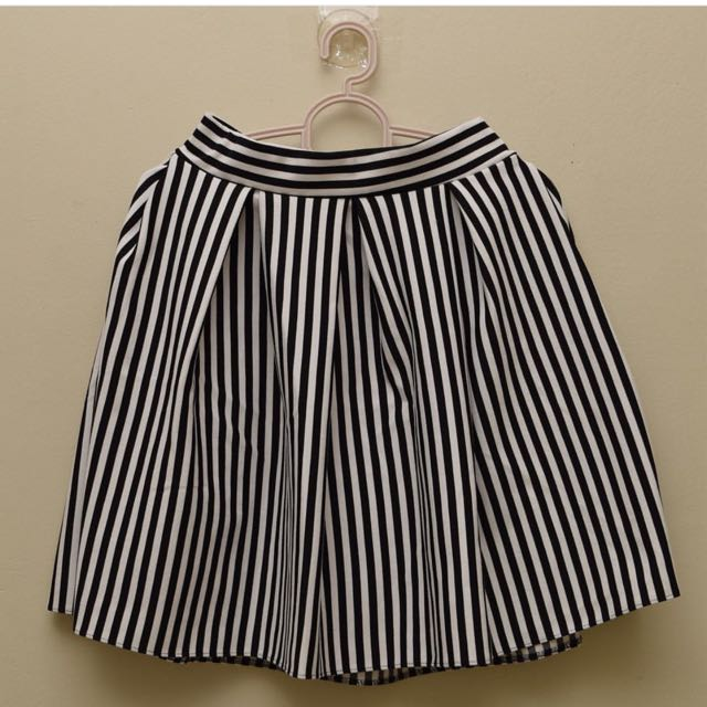 Midi Skirt Stripes