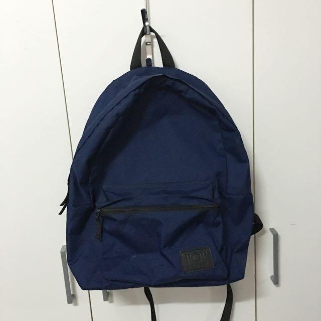 Navy Blue POP backpack