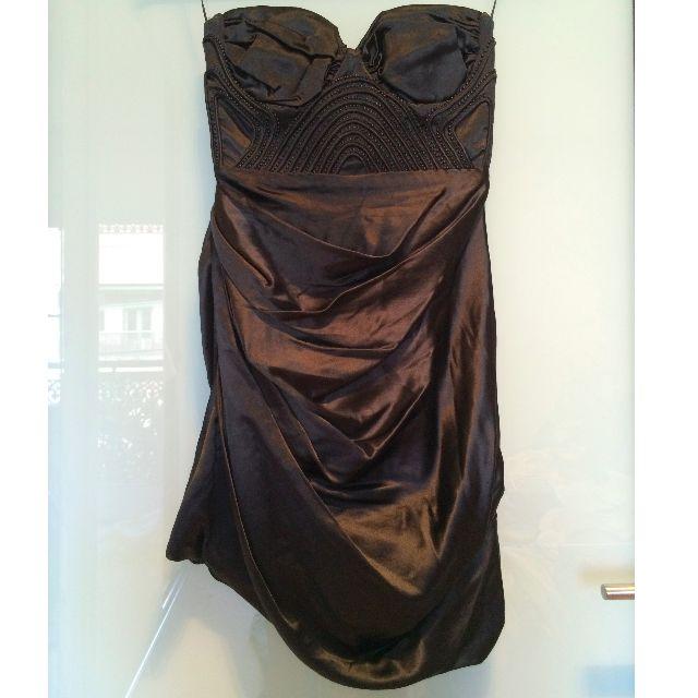 Nicola Finetti - black cocktail dress