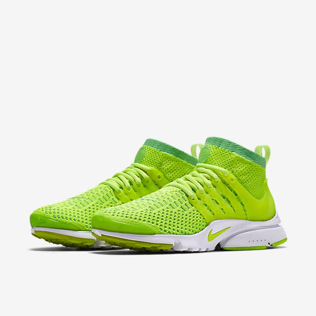 2310b725 Nike Air Presto Ultra Flyknit (Women) - Voltage Green/White/Black ...