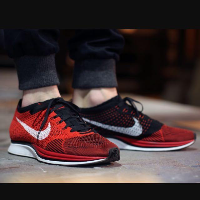 Nike Flyknit Racer University Red