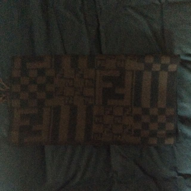 Preloved Authentic Fendi Cashmere Scarf