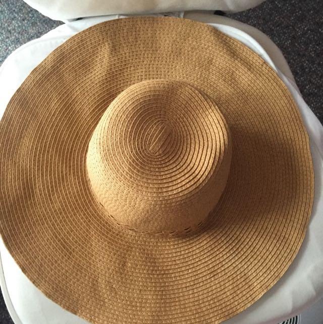 Sportsgirl Tan Sun Hat