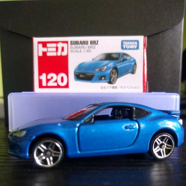Tomica Subaru Brz Custom Wheels Toys Games On Carousell
