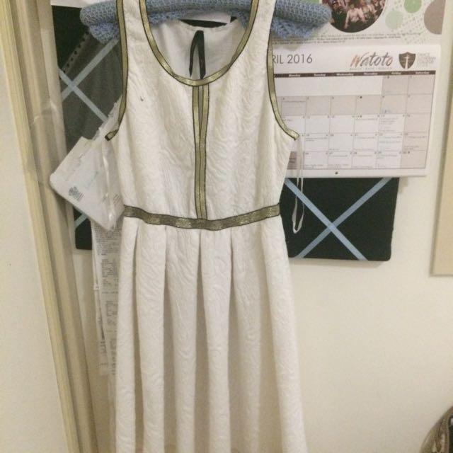White Dress Size Small