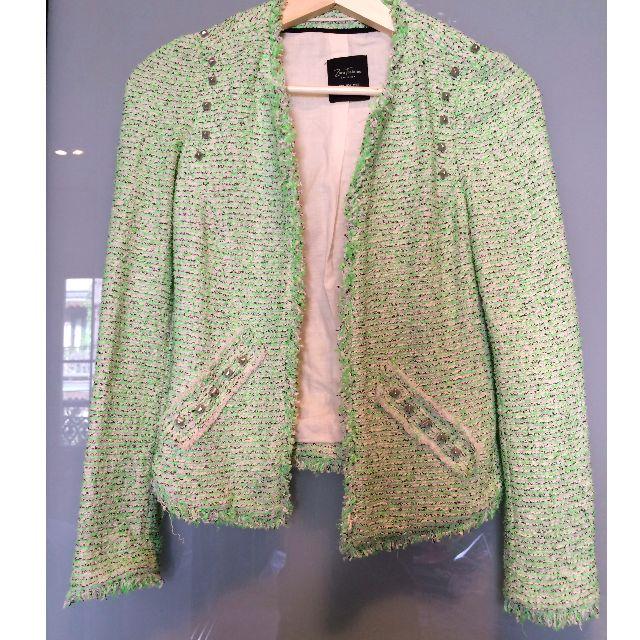 Zara jacket with studs.