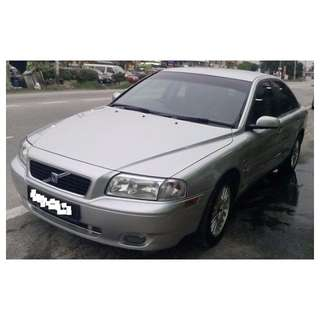 Volvo S80 (A) Turbo.  Year 2003