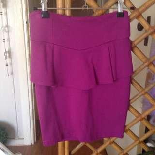High Waist Skirt XS