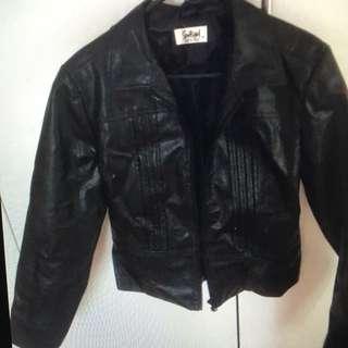 Leather Jacket Size 8-10