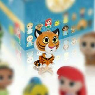 ((徵收)) Funko MYSTERY MINIS DISNEY PRINCESS - 阿拉丁 莫莉寵物 老虎