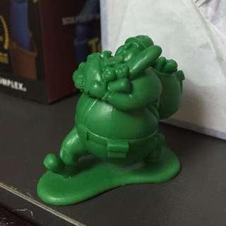 綠色胖子兵團 candy upham 轉蛋 扭蛋 日版