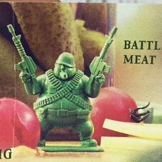 綠色胖子兵團 battle meat 日版 扭蛋 轉蛋