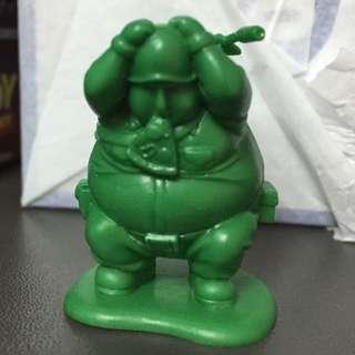 綠色胖子兵團 combat 日版 扭蛋 轉蛋
