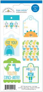 #1212 Hip Hip Hooray Mini Tags