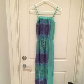 Ms Selfridge Floor Length Summer Dress