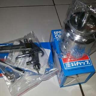 Spray Gun:meiji F75
