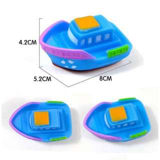 Bath Time Rubber Toy Yacht
