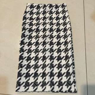 H&M Abstract Skirt