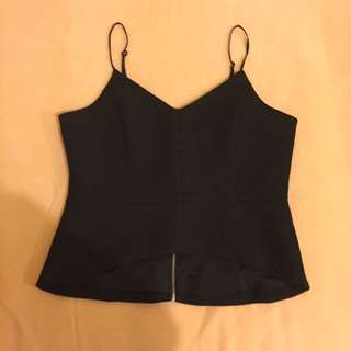 Black Cooper St Blouse