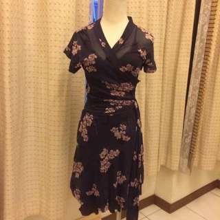 kookai 紫色和風式洋裝