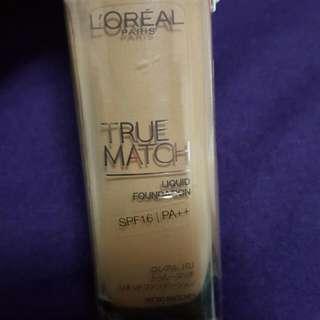 True Match Loreal Liquid Foundation