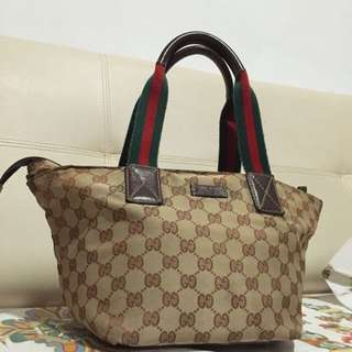 (Sold@$88)Authentic Gucci Tote Bag