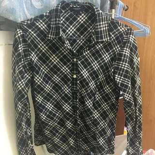 Burberry 格子襯衫