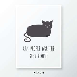 Cat Poster Print Design | Home Decor