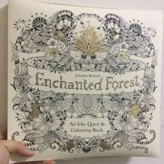 Enchanted Forest 圖繪本