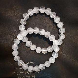 ⛅特價款⛅白幽靈異象/幻影水晶手鍊