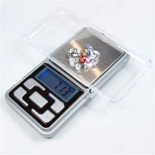 ★Mini High Precision Electronic Pocket Weight ★ Digital Jewellery Scale ★ Blue LCD Display ★ 500g x 0.1g ★