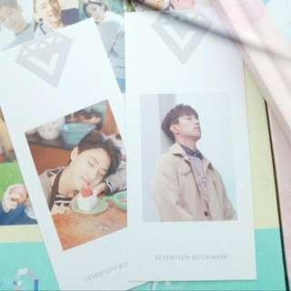[WTT] Seventeen Love & Letter bookmark