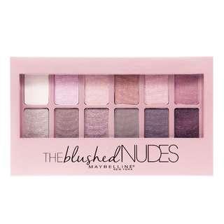 現貨 Maybelline 媚比琳 12色眼影盤 乾燥玫瑰 Blushed Nudes