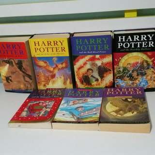 Harry Potter Books Set Of 7 By J K Rowling