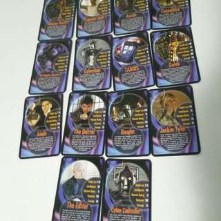 Dr Who Trumps Cards Lot Of 30!